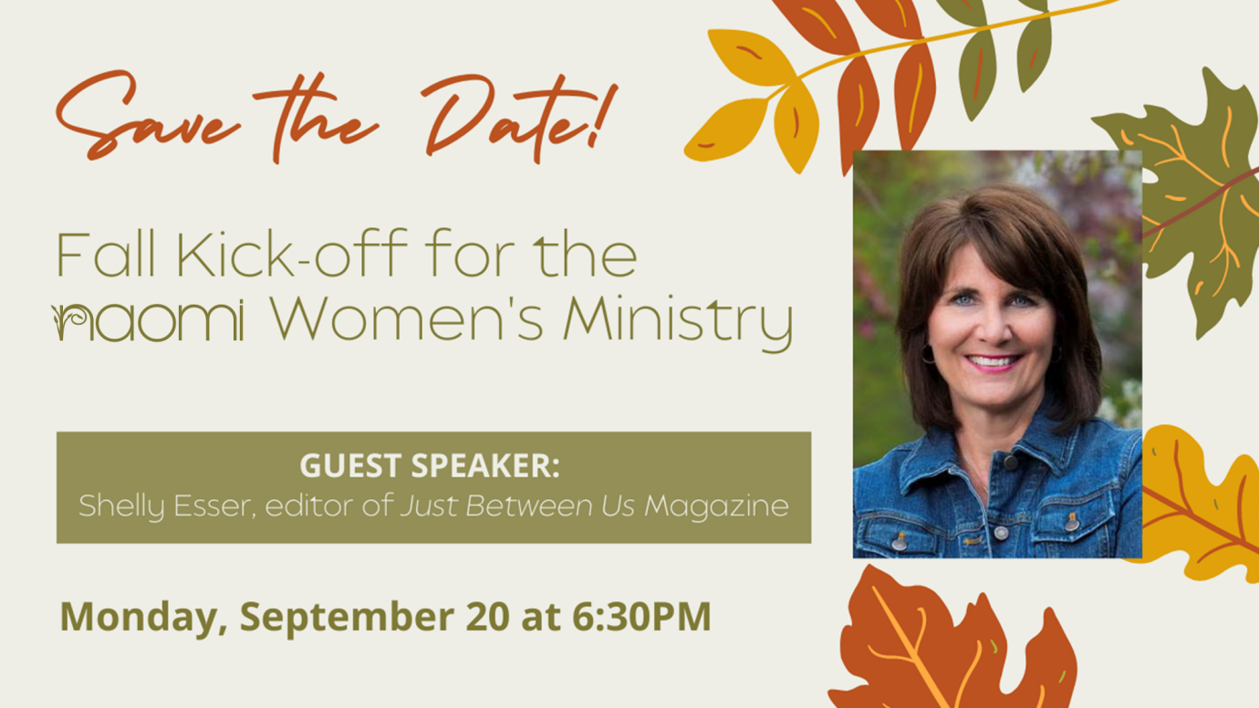 Fall Kick-off for Naomi Women's Ministry